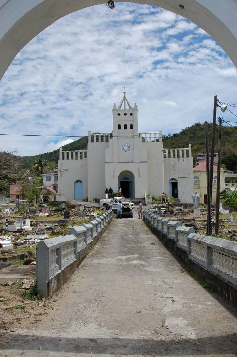 Church a Big Part of History and Cuture in Dominica