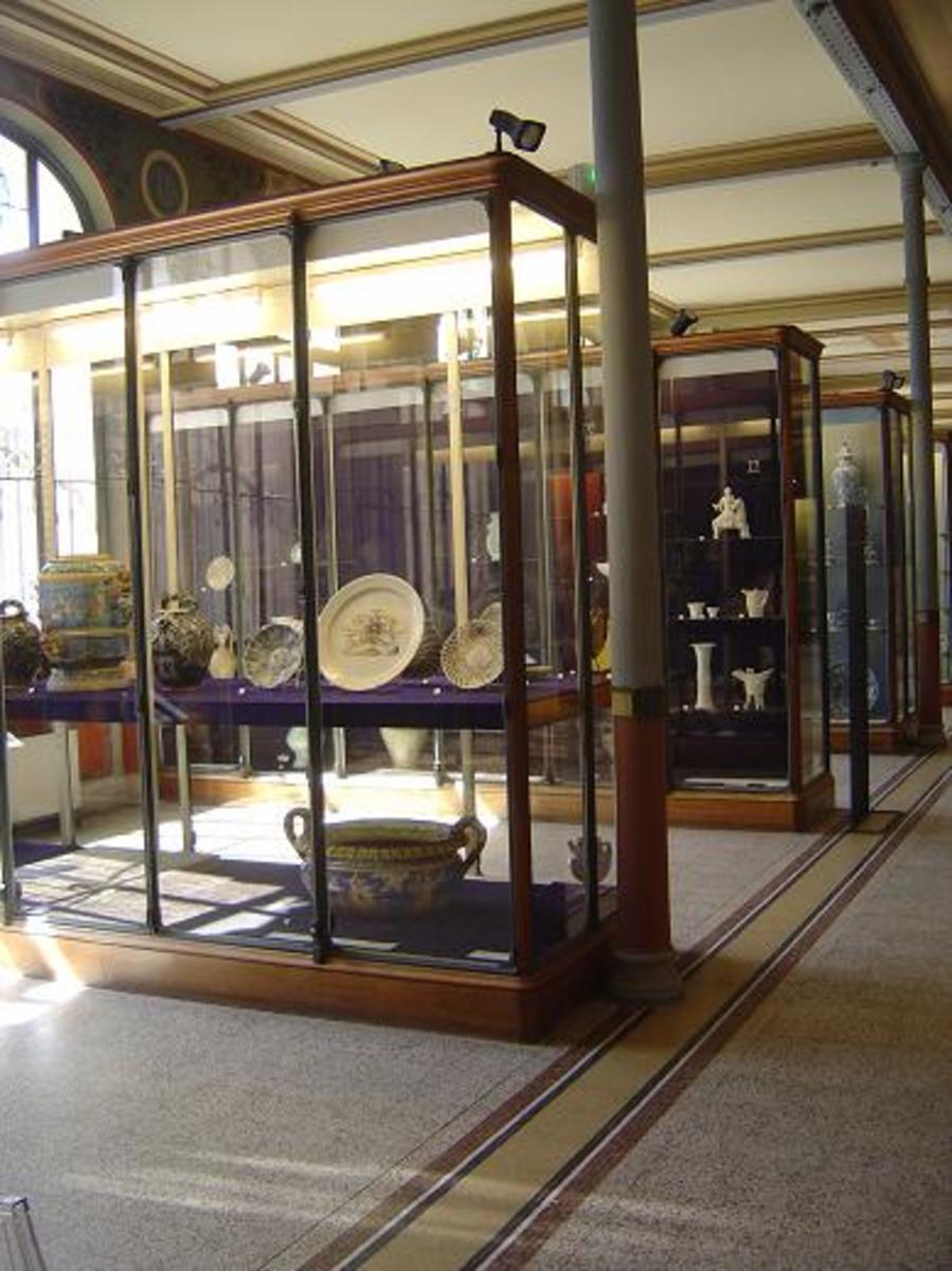 National Porcelain Museum in Limoges - Musée national de la porcelaine Adrien Dubouche (Photo B L Walton)