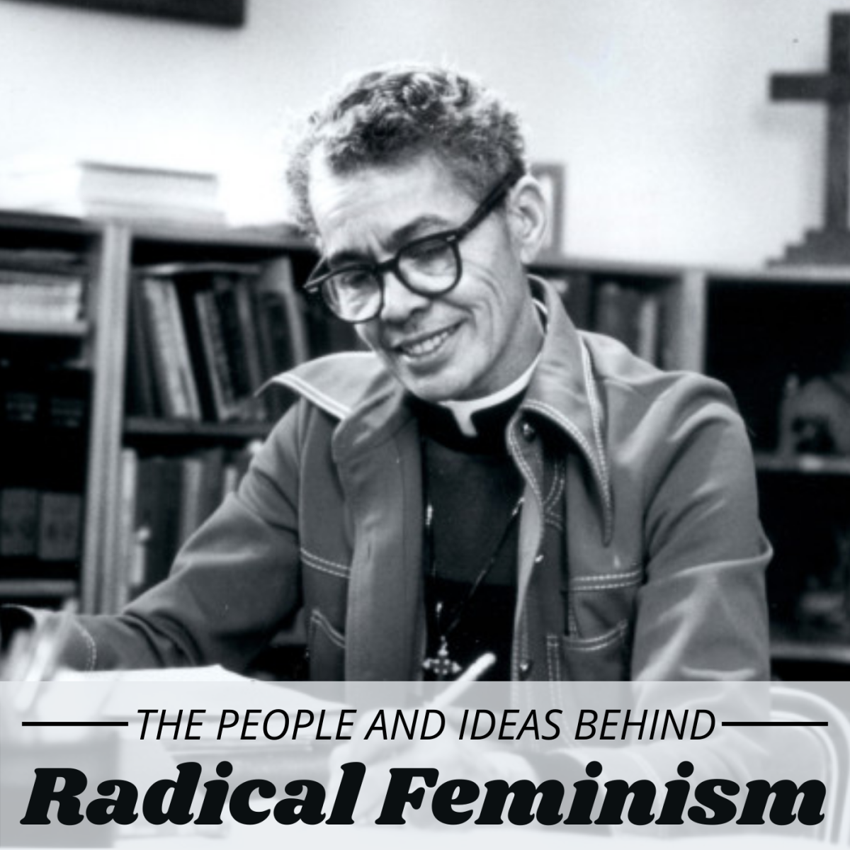 Pictured here is radical feminist Pauli Murray.