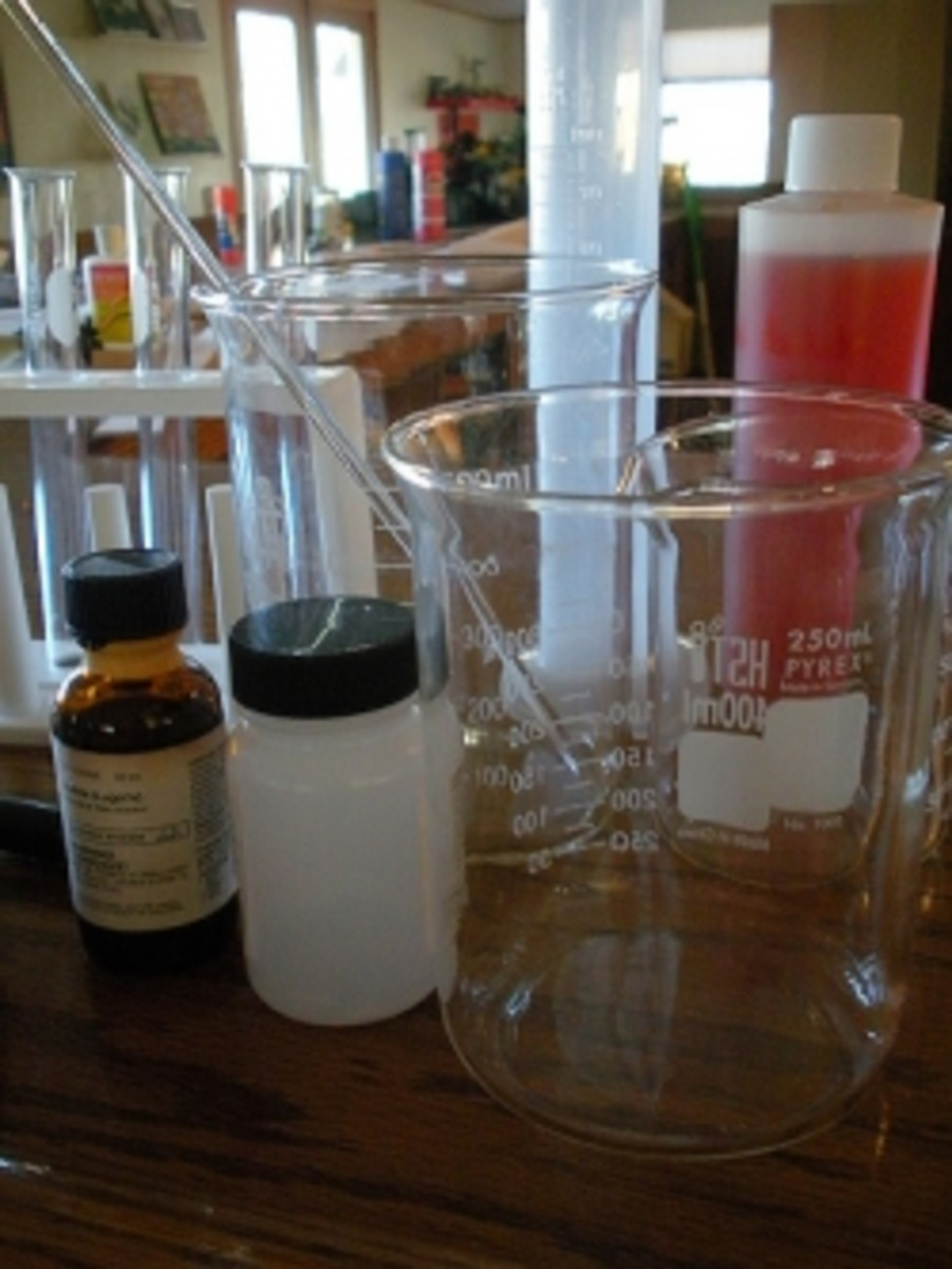 Chemistry high school lab equipment