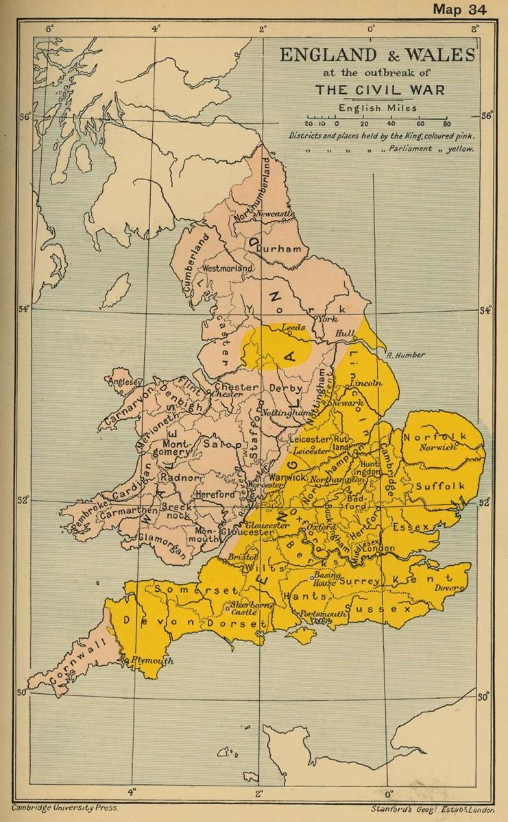 ENGLAND 1642