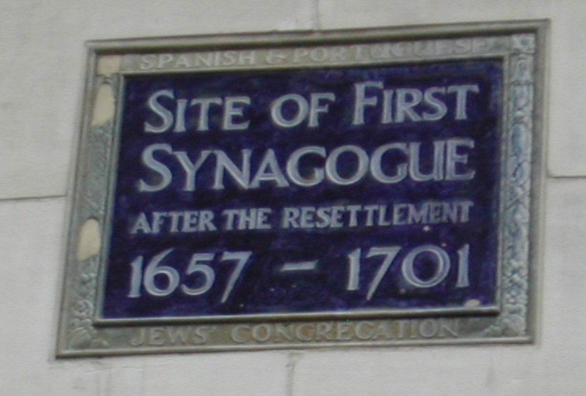 FIRST SYNAGOGUE IN ENGLAND