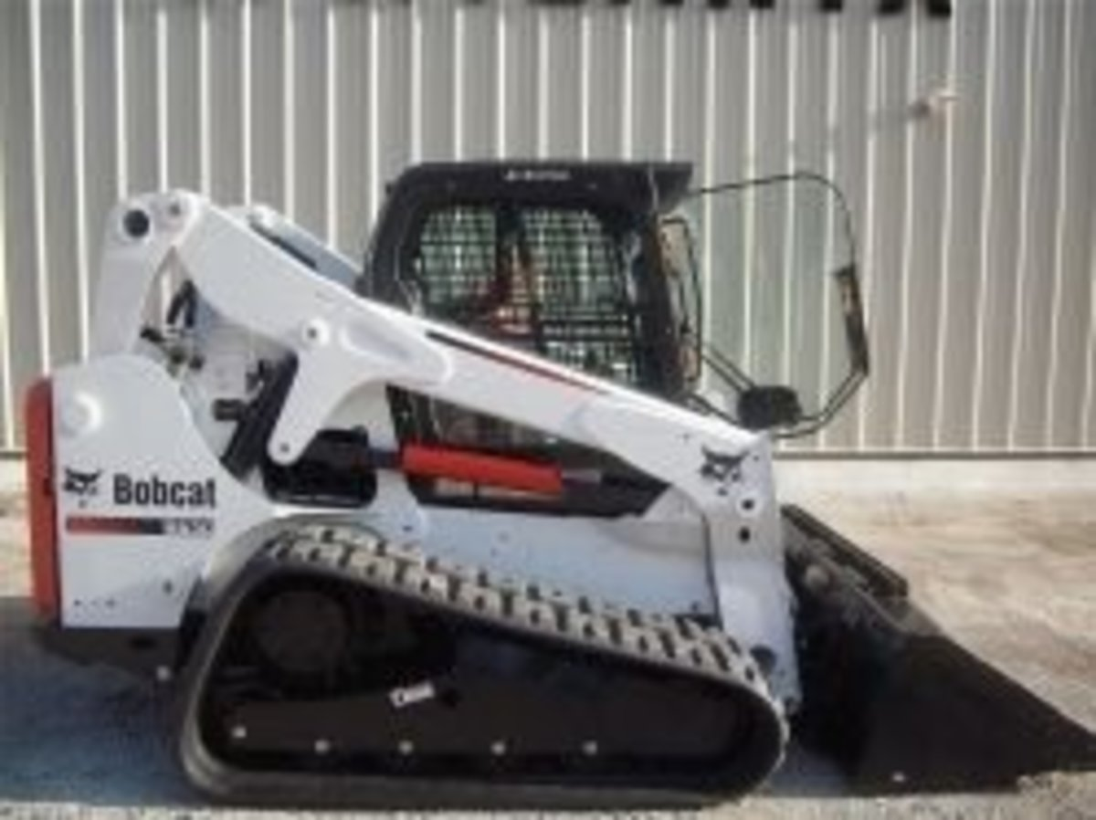 The Bobcat T650 Compact Track Loader