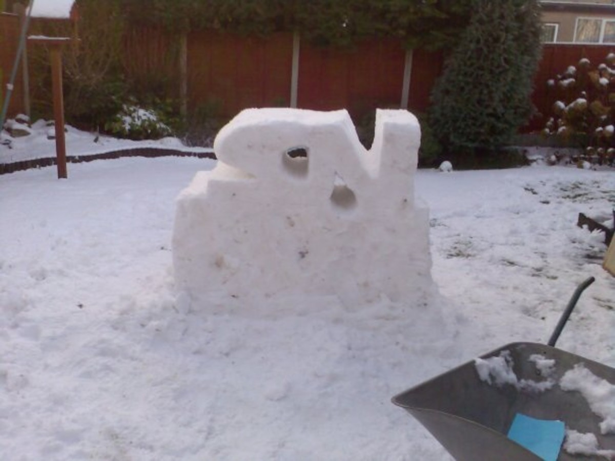 how-to-make-a-snow-sculpture