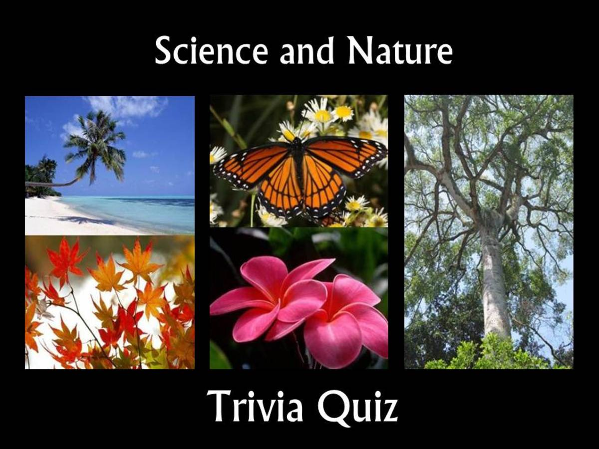 Science and Nature Trivia Quiz