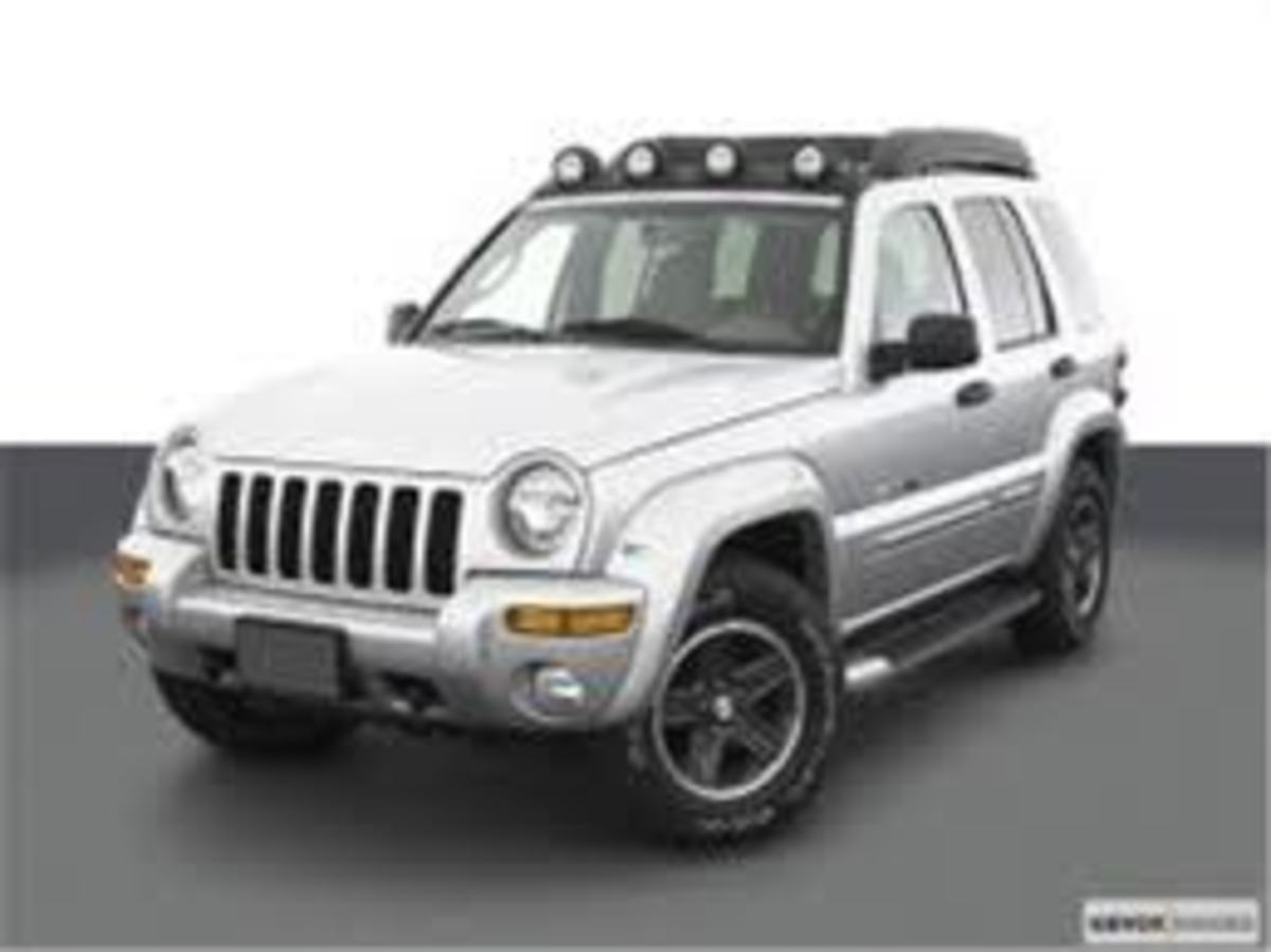 Our second favorite Jeep Liberty.