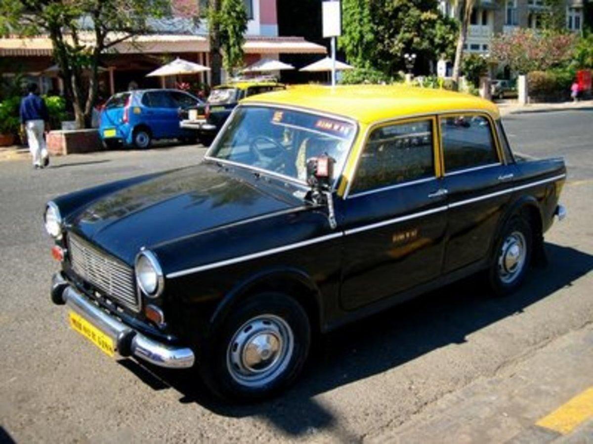 Black & Yellow Top Taxi