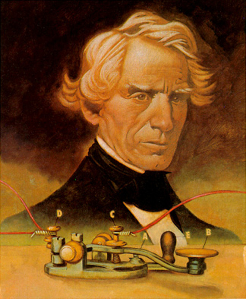 Samuel Morse really started something.   Although morse code has been superseded in most areas, it is still used, and maybe always will.