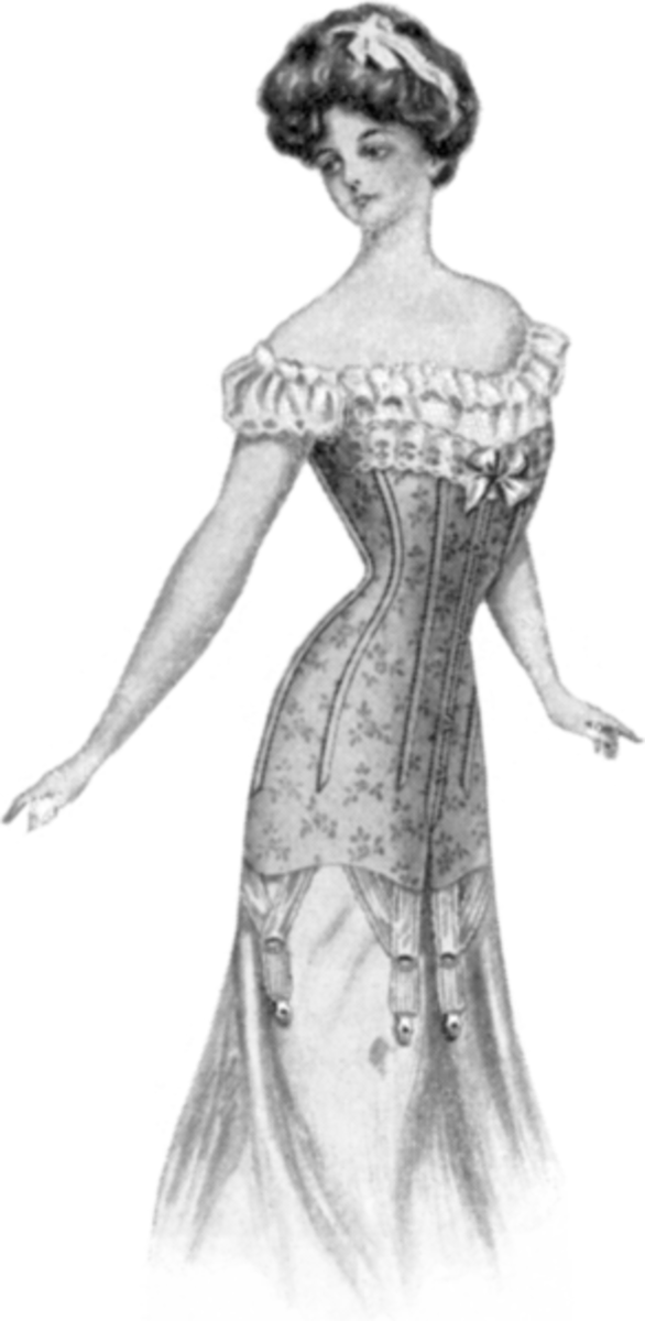 By Woolnough-Corsetiers (Corset Styles 1909-1910.) [Public domain], via Wikimedia Commons
