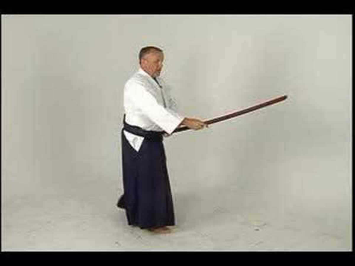 Aikido Sword Stance