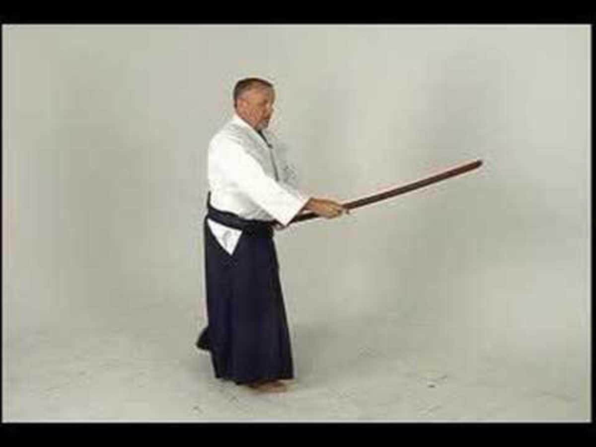 Aikido Sword Stance