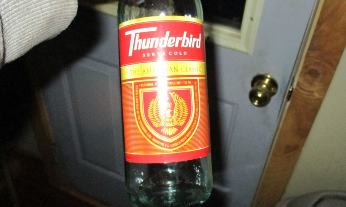 Use very inexpensive wine, Thunderbird or Silver Satin. Sweet, fruity wine.