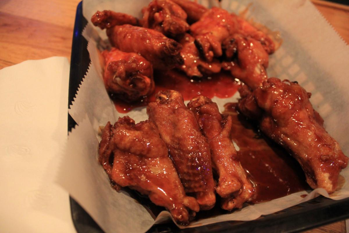 Delicious chicken wings