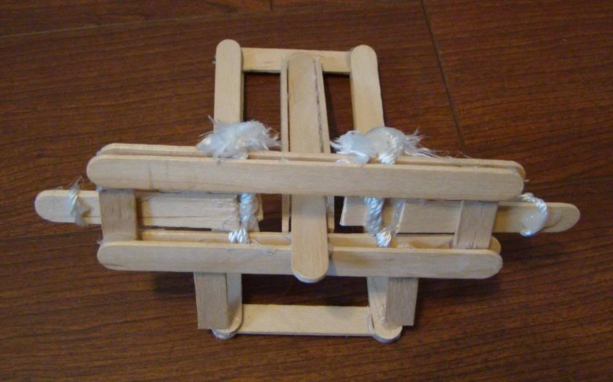 Homemade Ballista Catapult