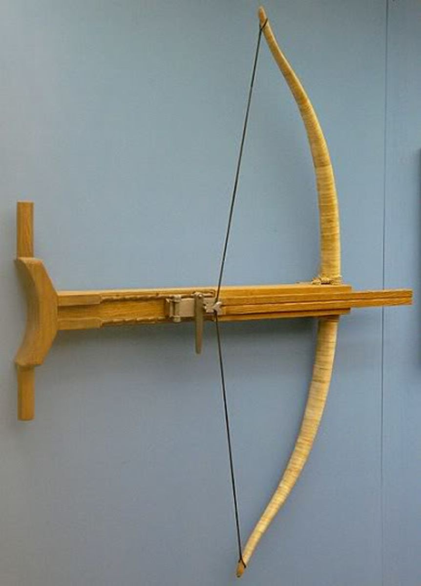 The gastrophete is a type of tension catapult.
