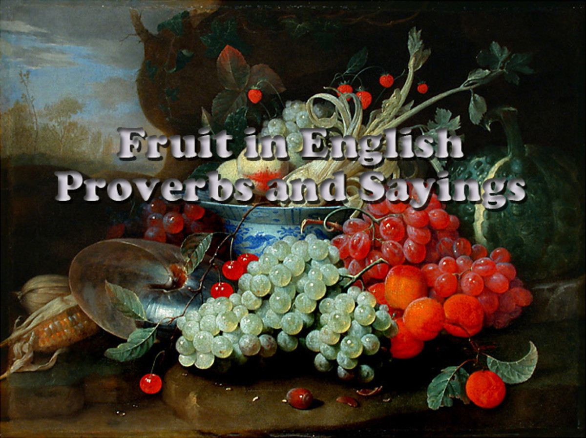 Fruit in English Proverbs and Sayings