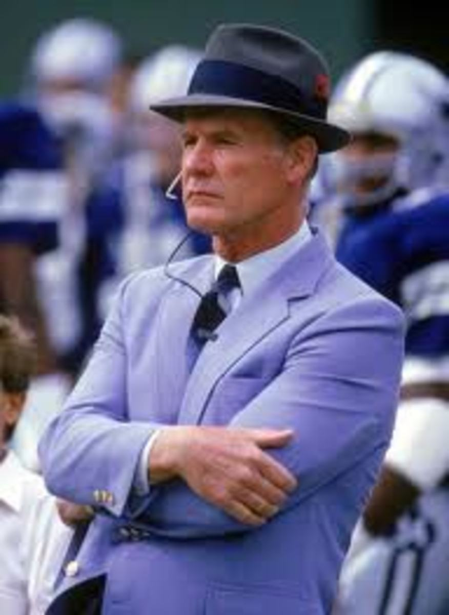 Dallas Cowboys Coach 1960-1988