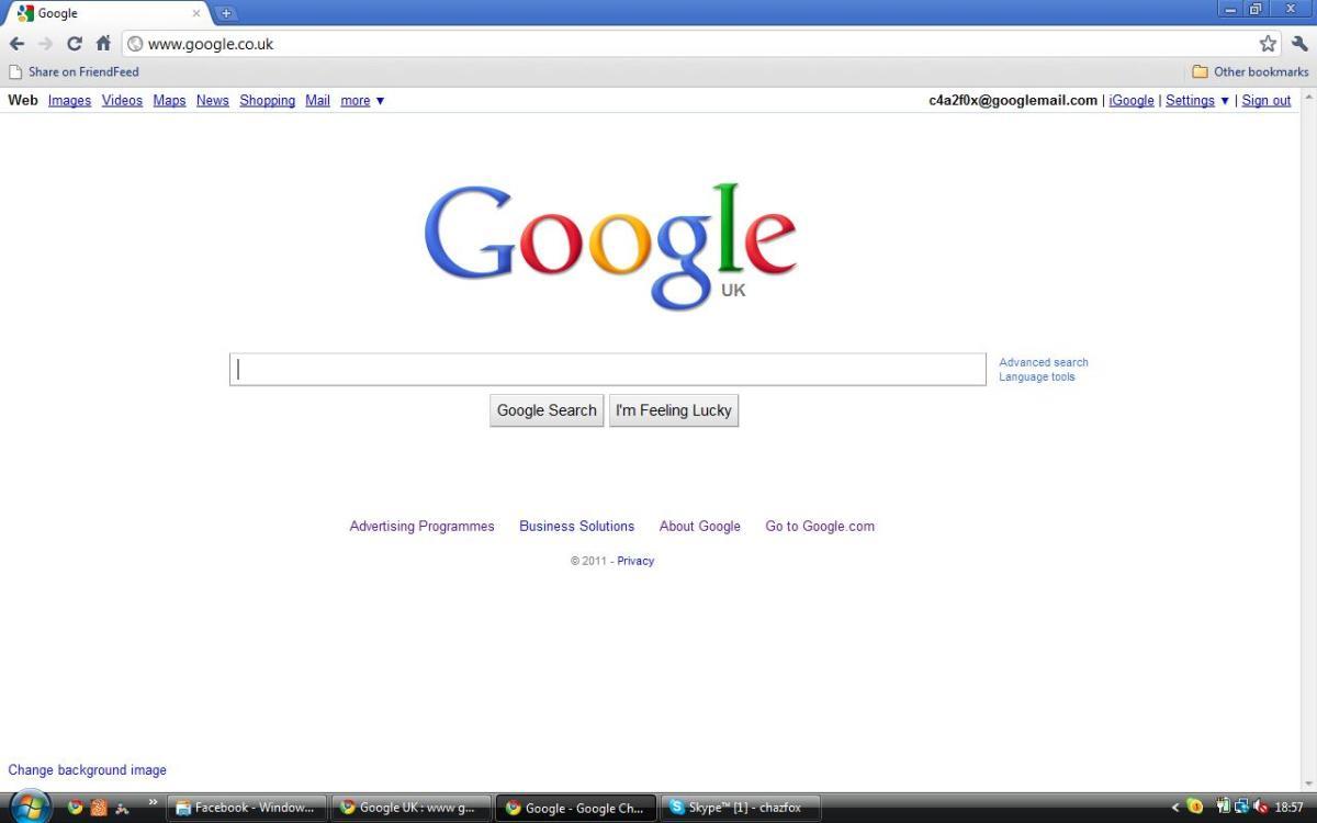 Google UK : www google co uk : Search, Webhp and UK Google Homepage (in English)