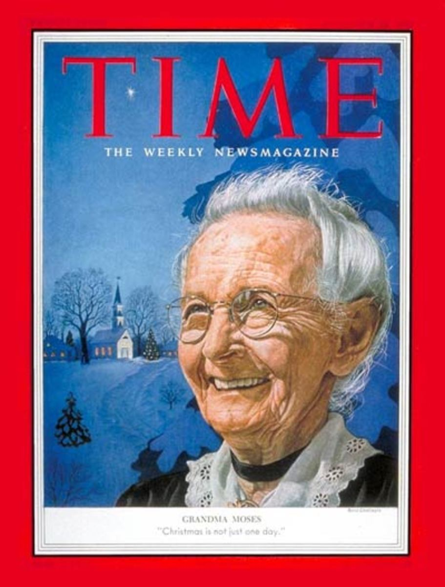 Time Magazine cover 1953