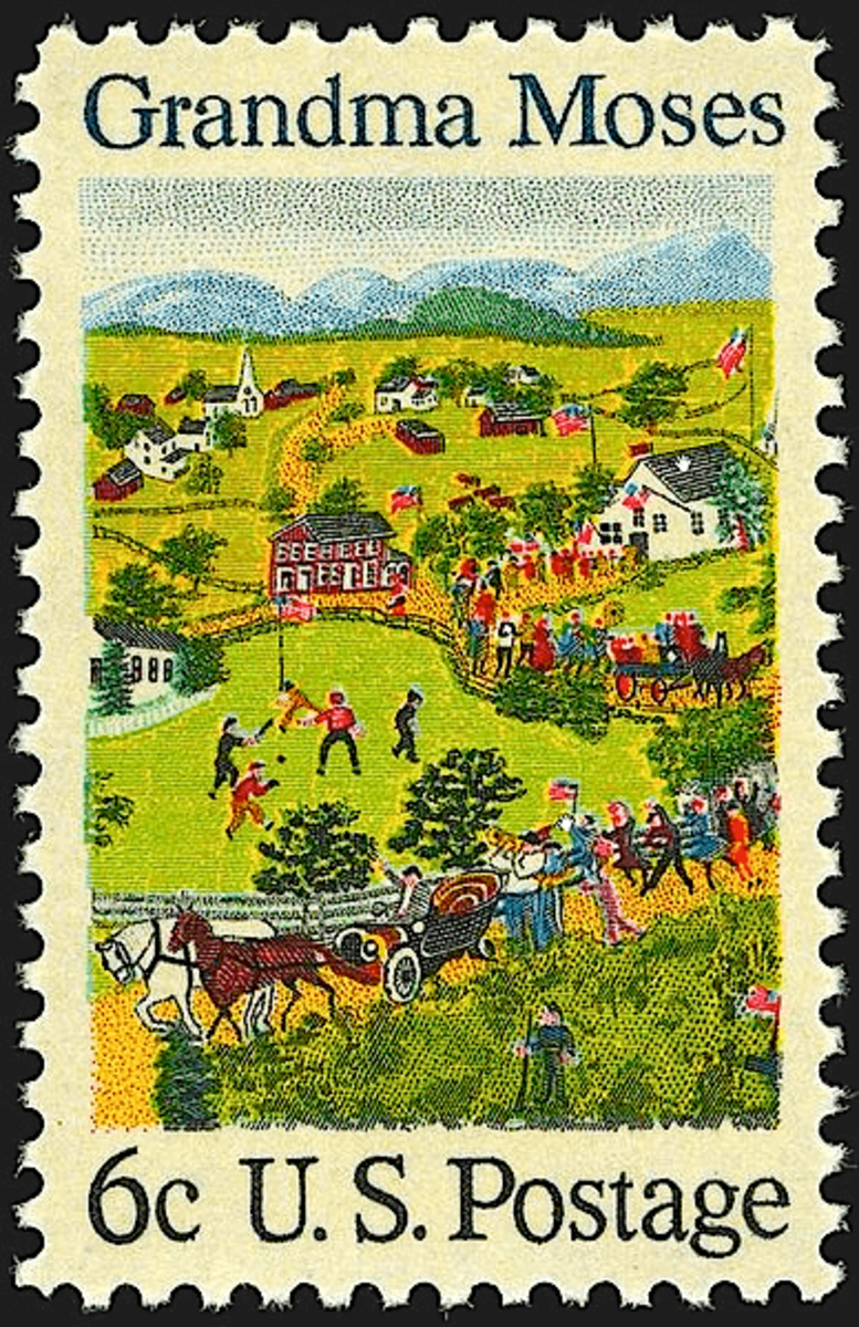 A commemorative stamp was issued in her honor in 1969
