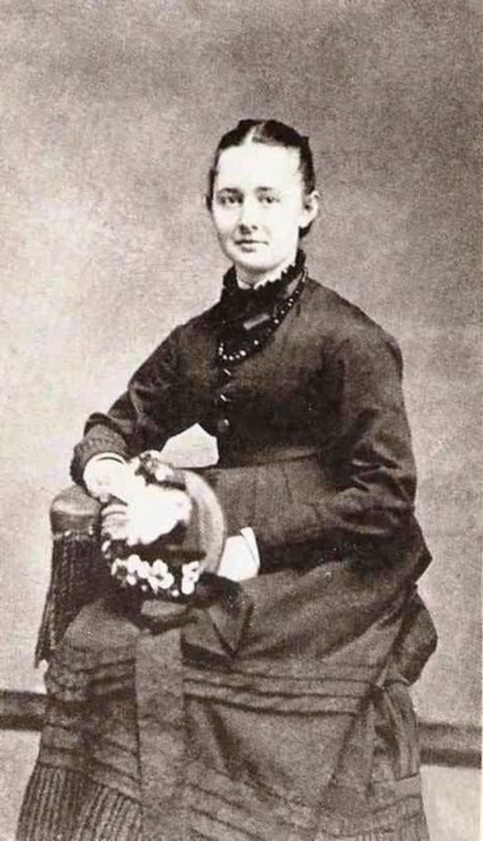 Anna Mary Robertson at age 15