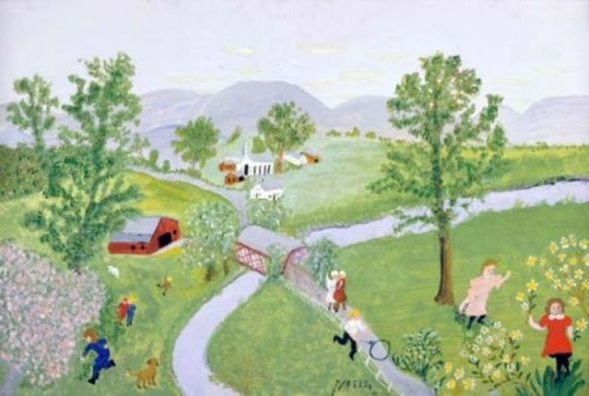 Grandma Moses Early Days