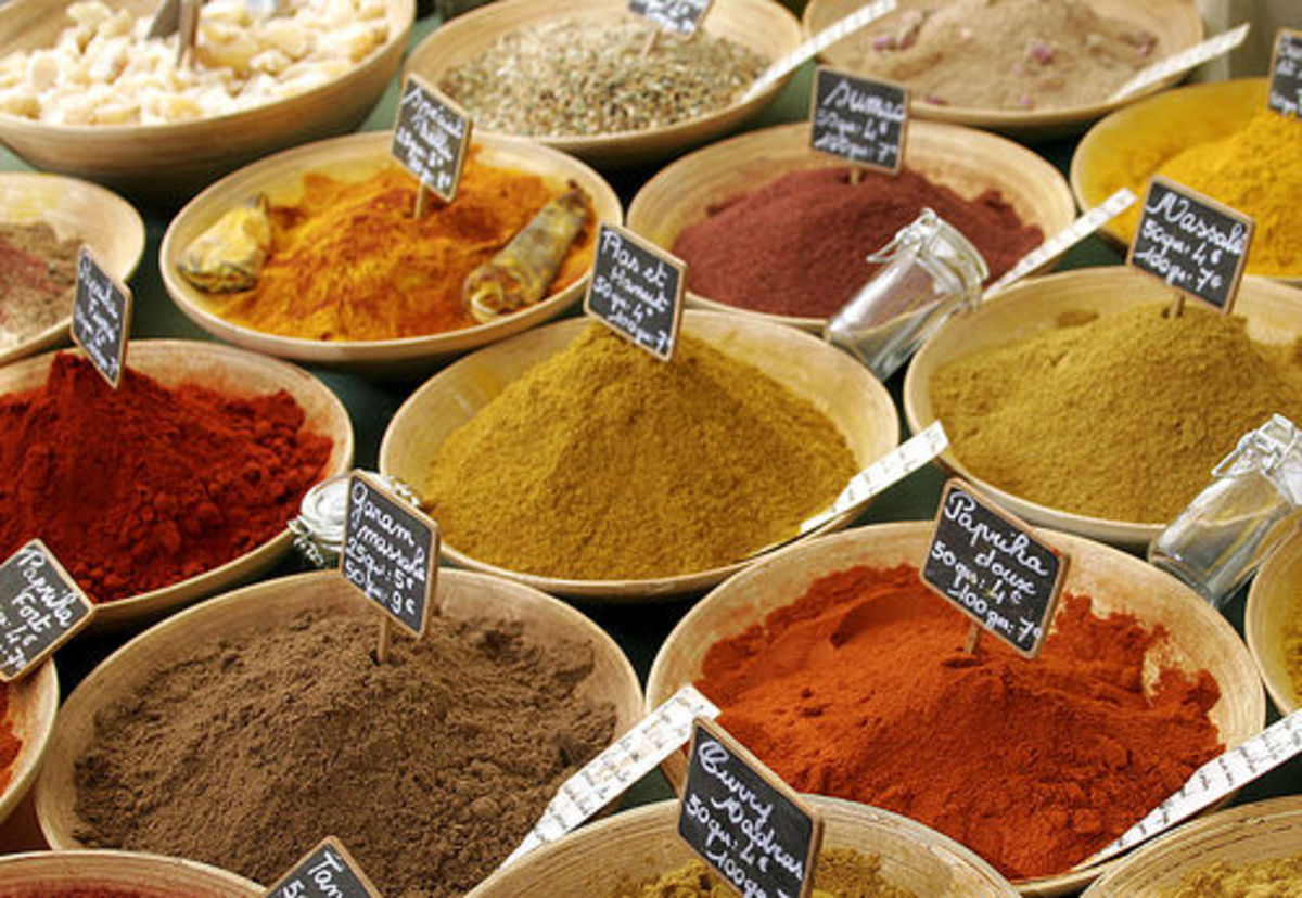 list-of-different-spices