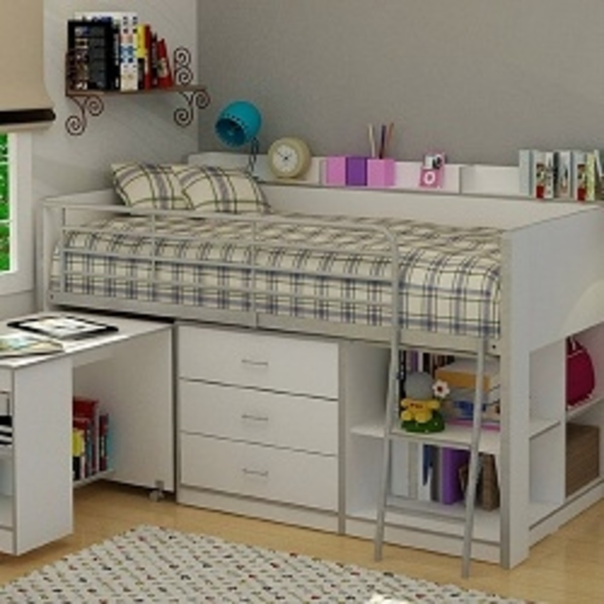 loft-bed-with-storage-and-desk