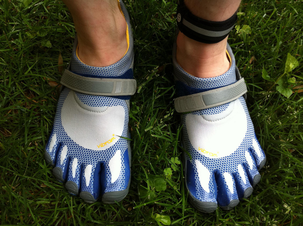 Barefoot running shoes are ugly, but do they work?