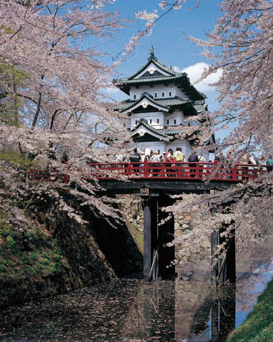 Ishibayashi castle, home to the Nakagawa Ninjutsu School
