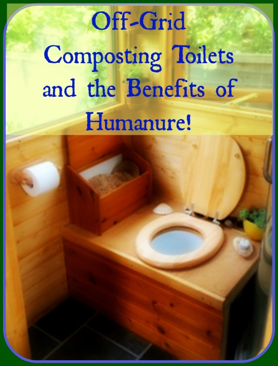 Off-Grid Composting Toilets and the Benefits of Humanure!