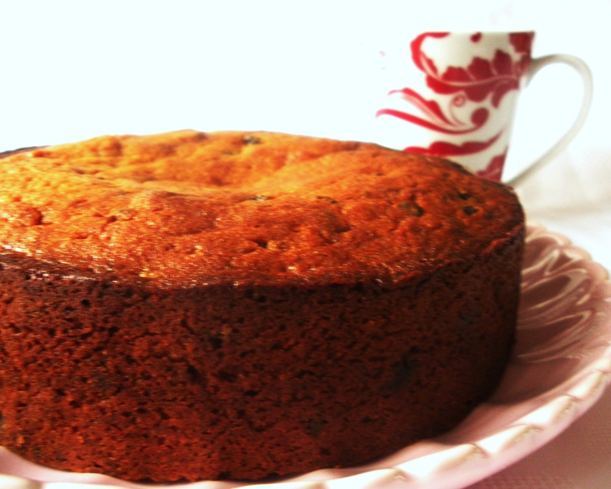 Quick and Easy Fruit Cake Recipe
