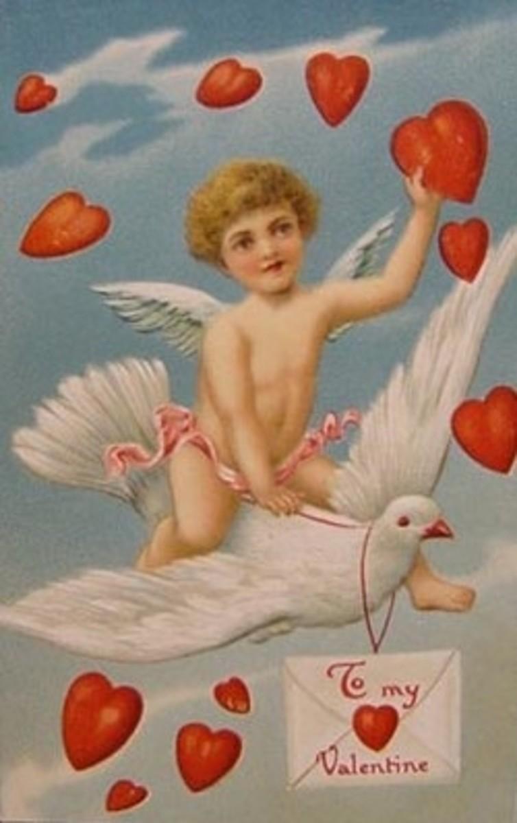 Wikimedia Vintage Valentine Art Postcard