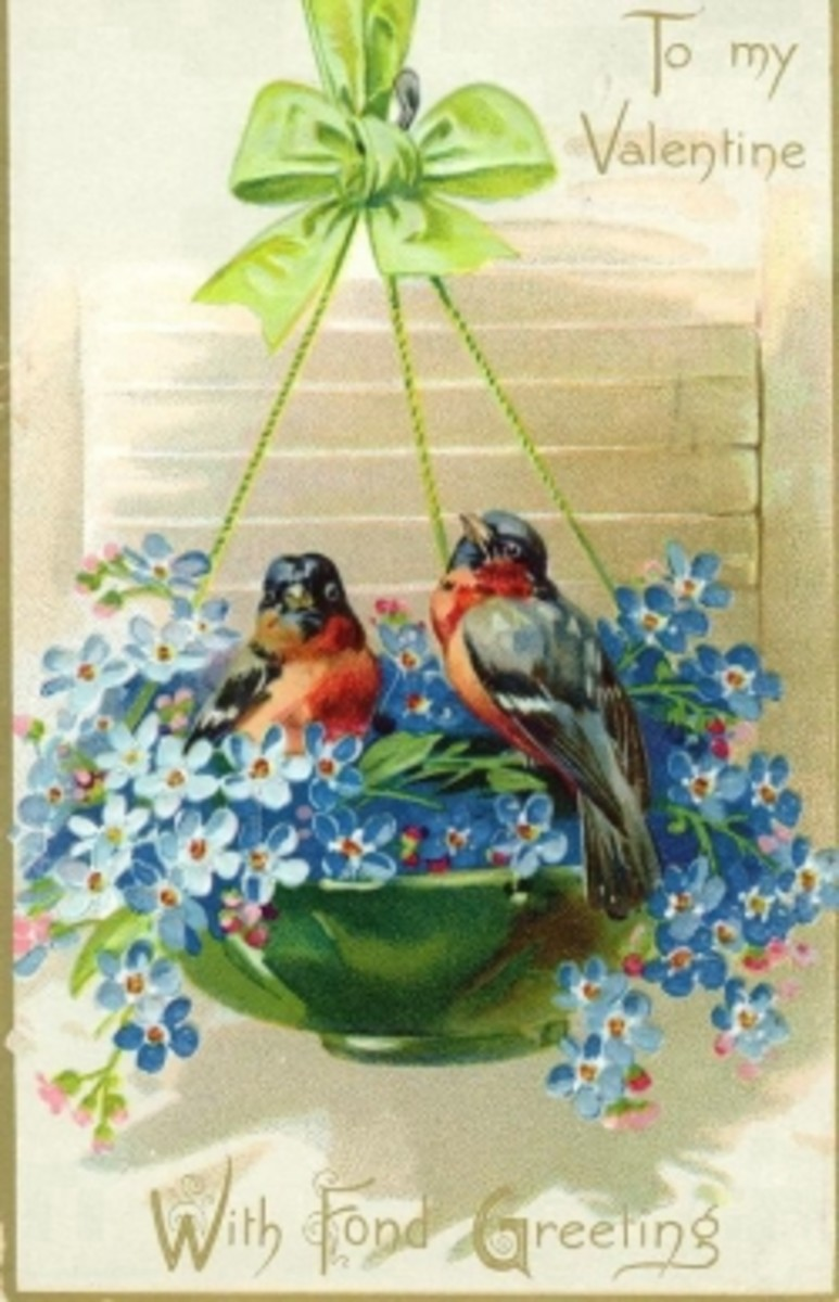 Victorian Valentine Art