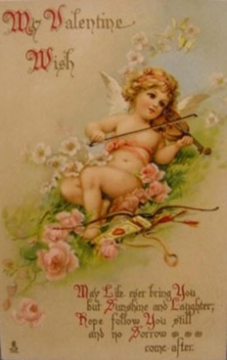 Wikimedia Vintage Valentine Greeting Card