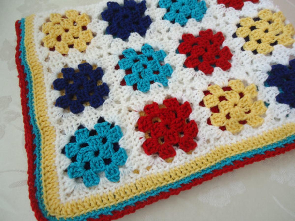 Primary Colors Kindergarten Mat Blanket
