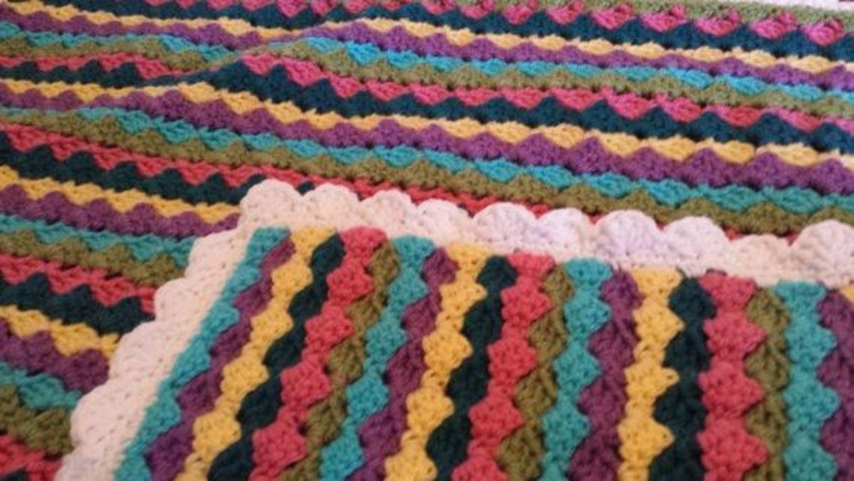 Brick Stitch Afghan