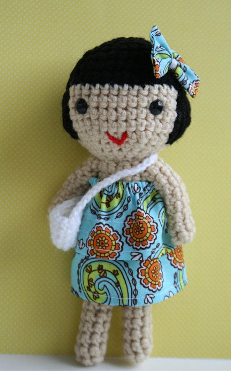 Handmade Amigurumi Doll