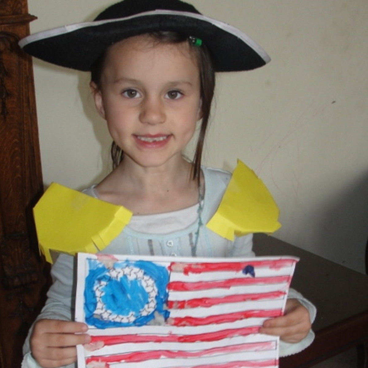 George Washington, Battle of Trenton, & Betsy Ross Lesson