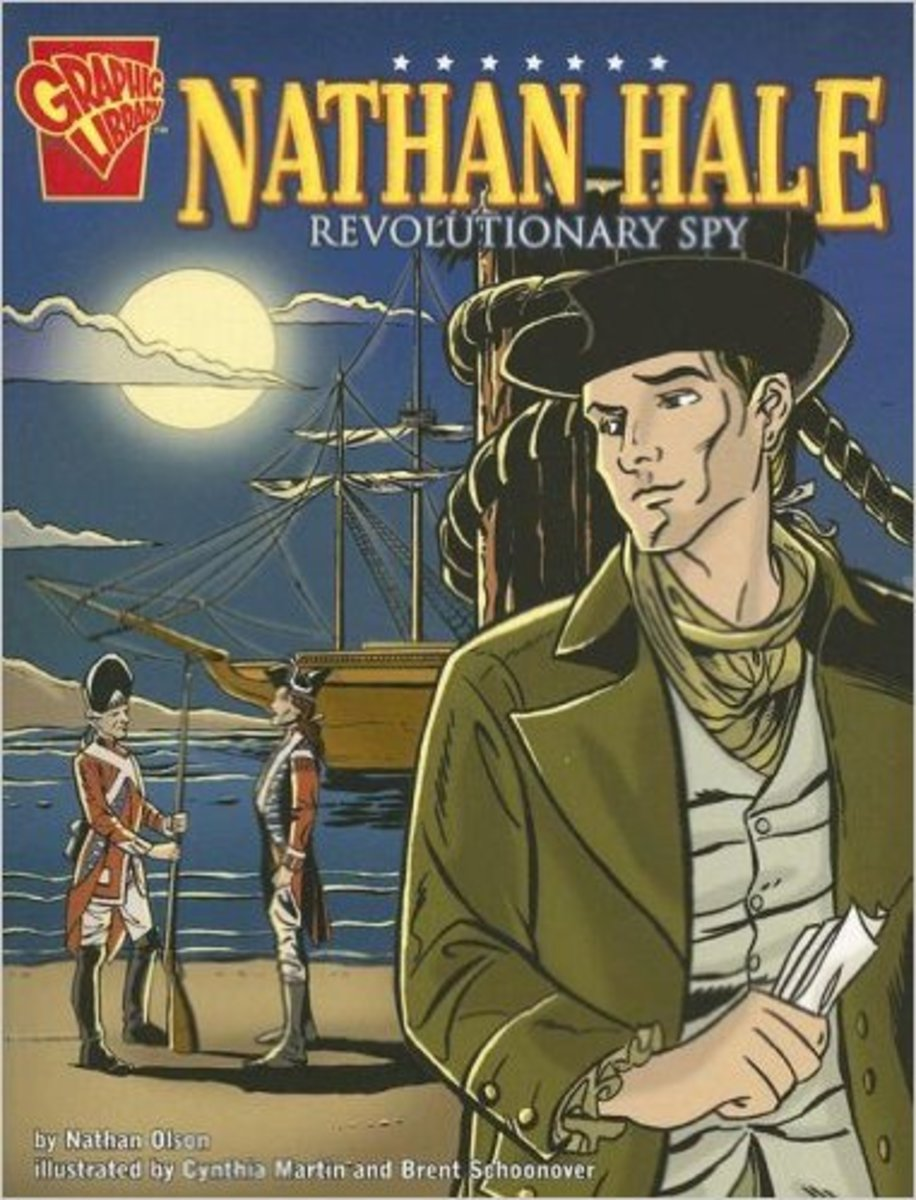 Nathan Hale: Revolutionary Spy (Graphic Biographies) by Nathan Olson
