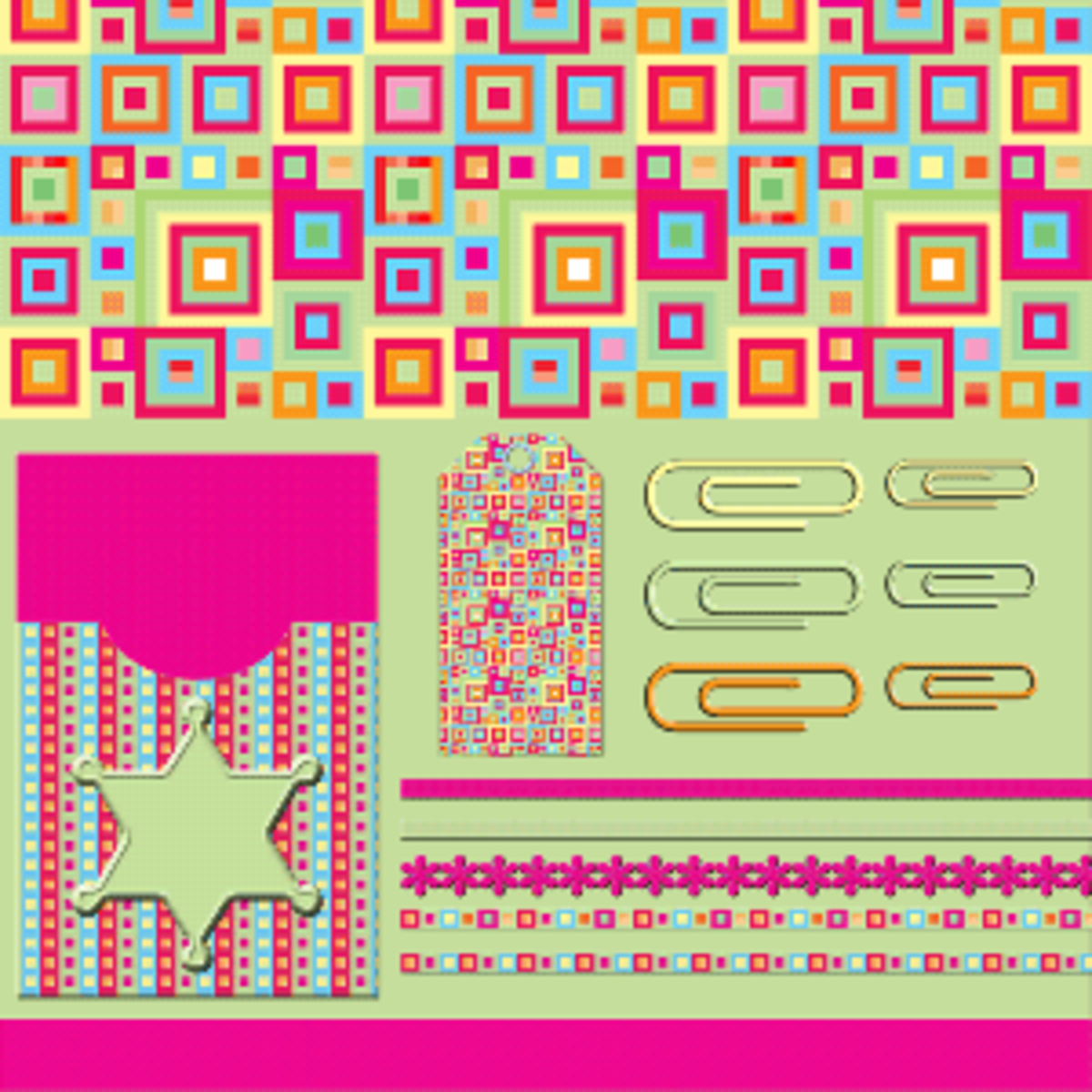 free digital scrapbooking kit at crafthead.info.