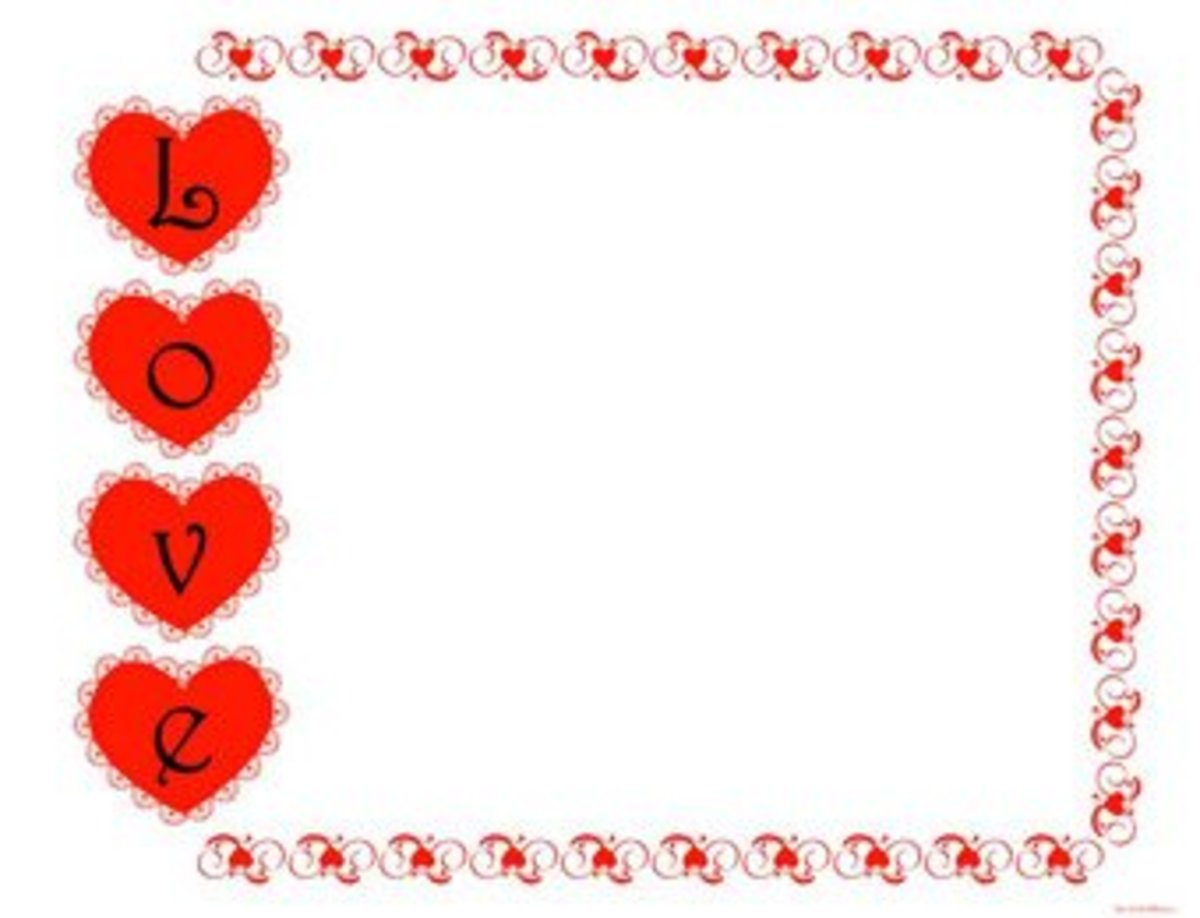 free Valentine's Day scrapbook printables at The Little Pillow.