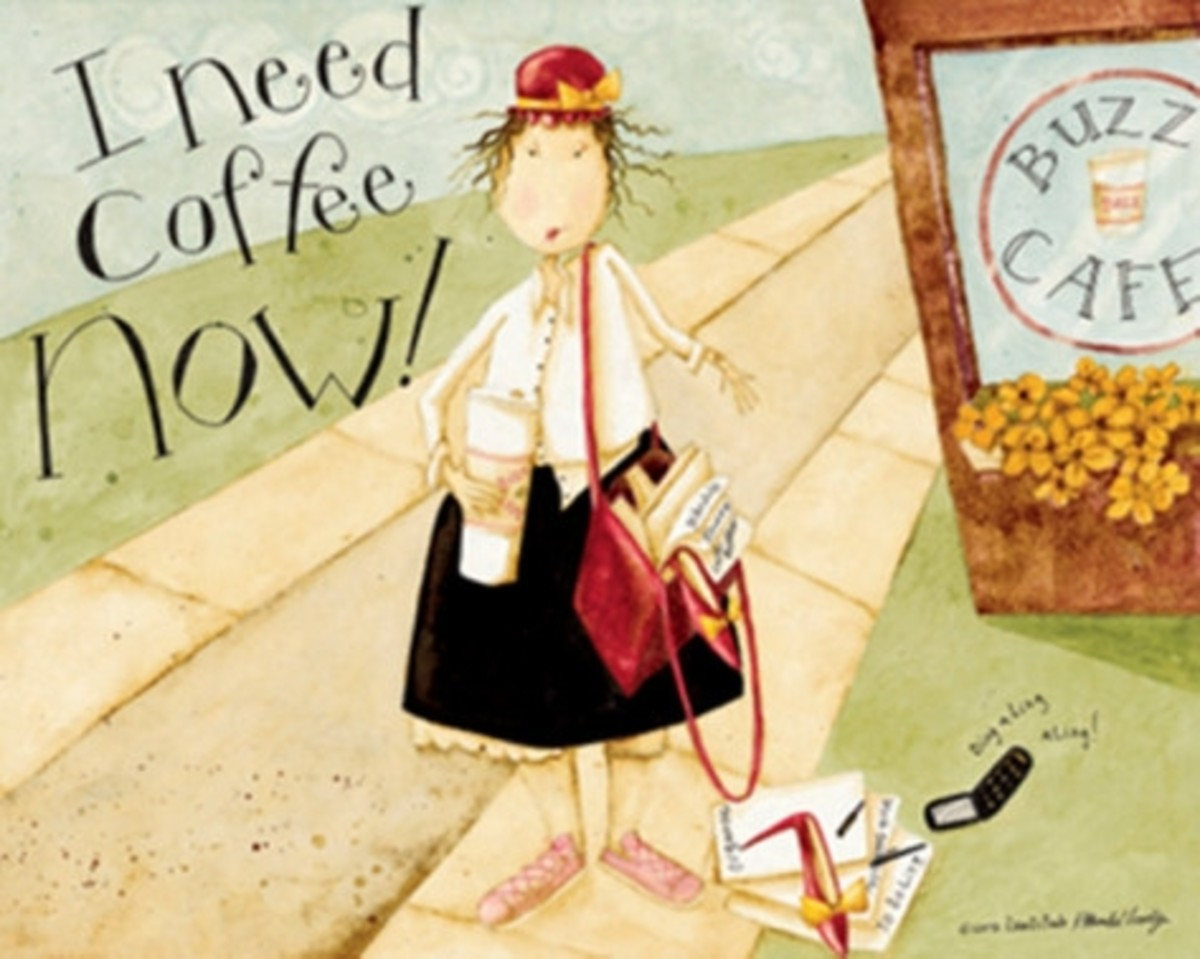 I Need Coffee Poster