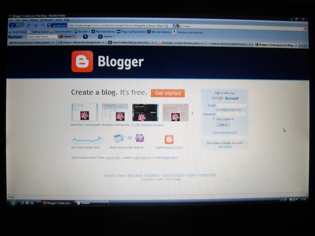 Google's Blogger is a user friendly blog hosting platform and an excellent choice in many respects