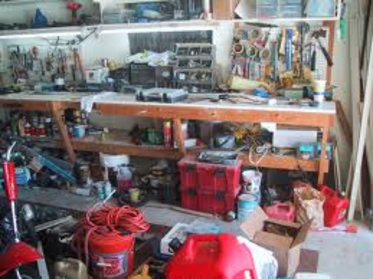 Before Storage for Garage