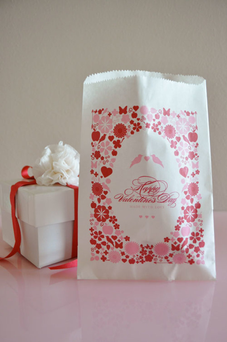 goodie bags at Twig and Thistle