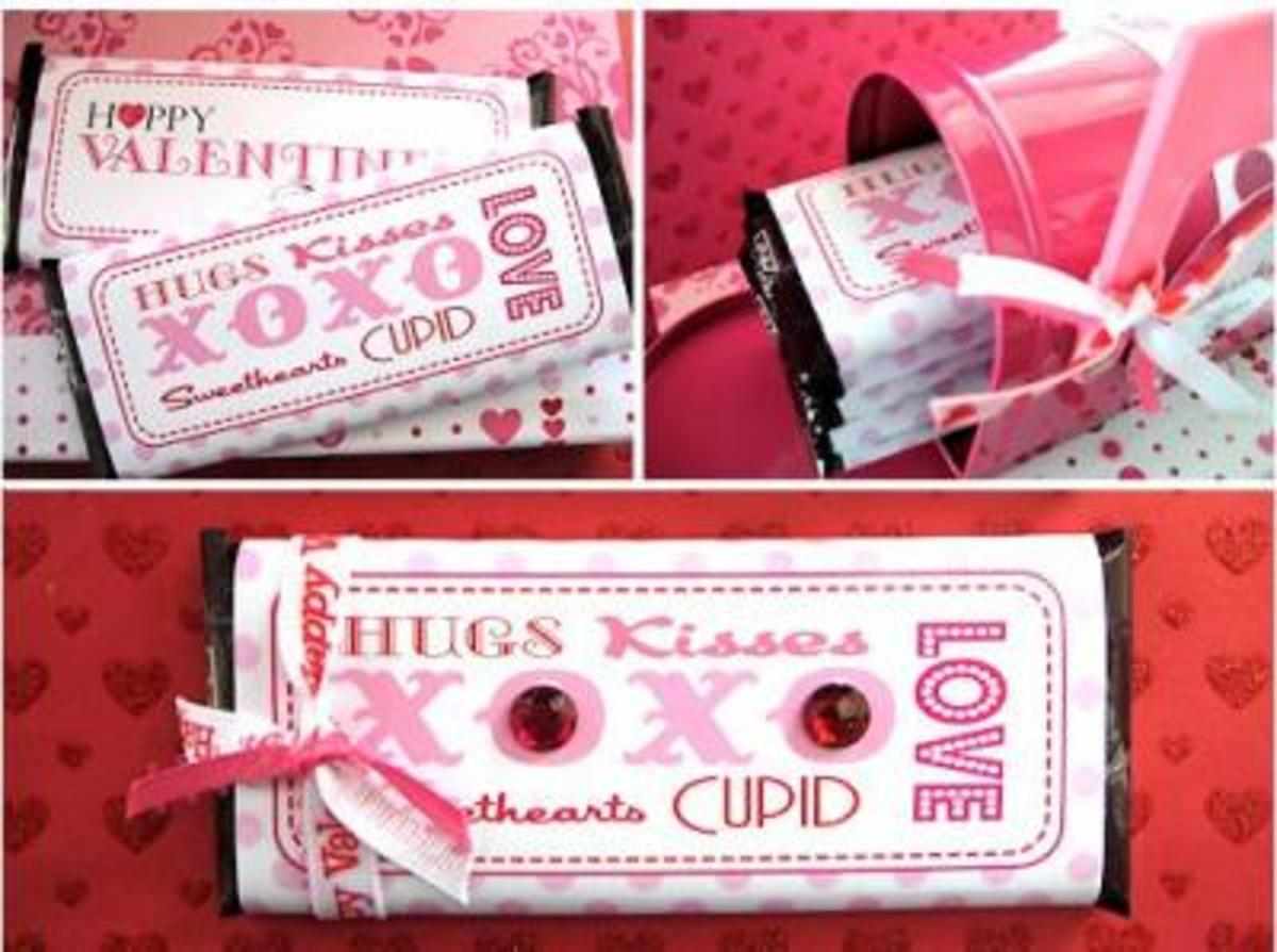 printable candy bar wrappers at Anything But Perfect.