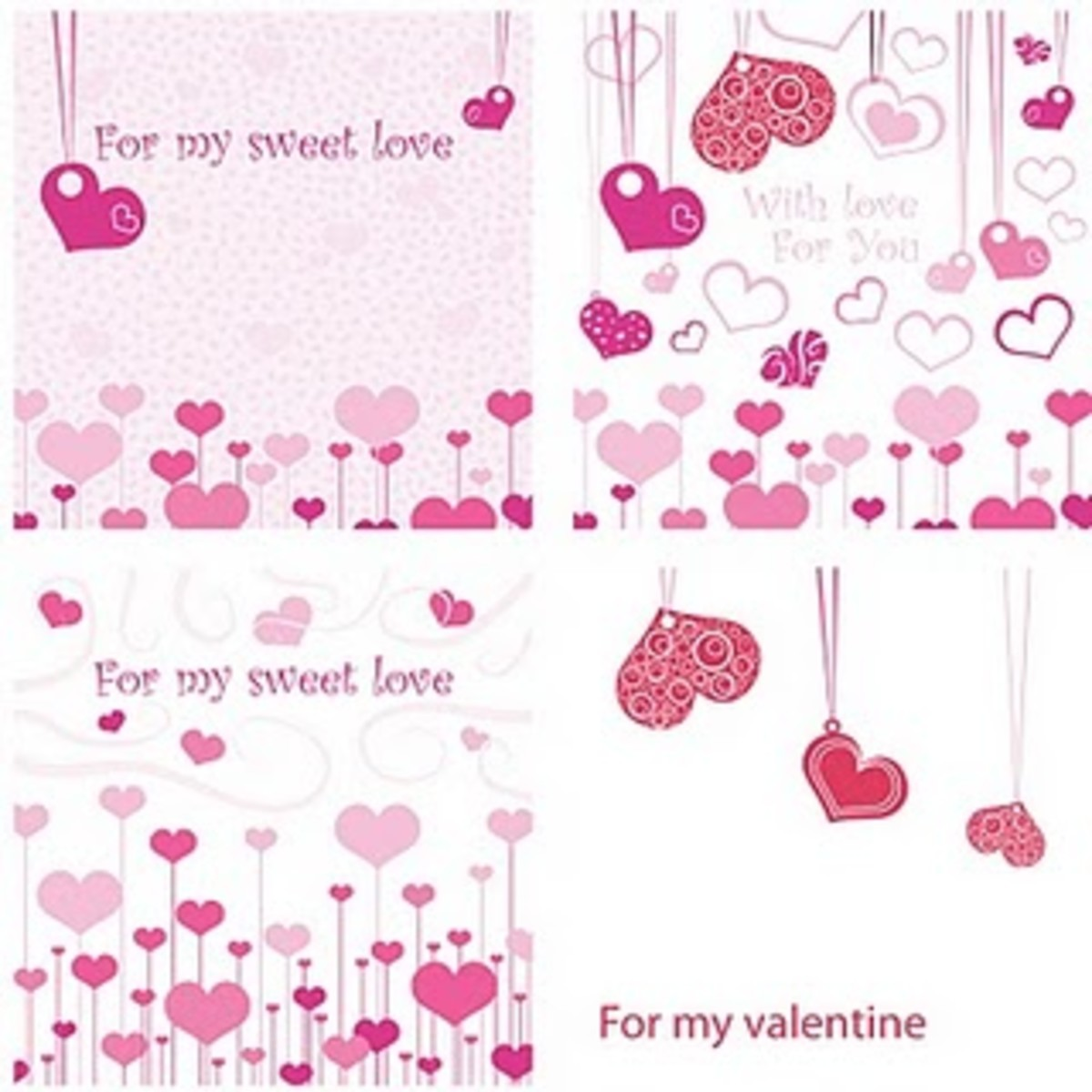 valentine's day cards at SKHedr Designs