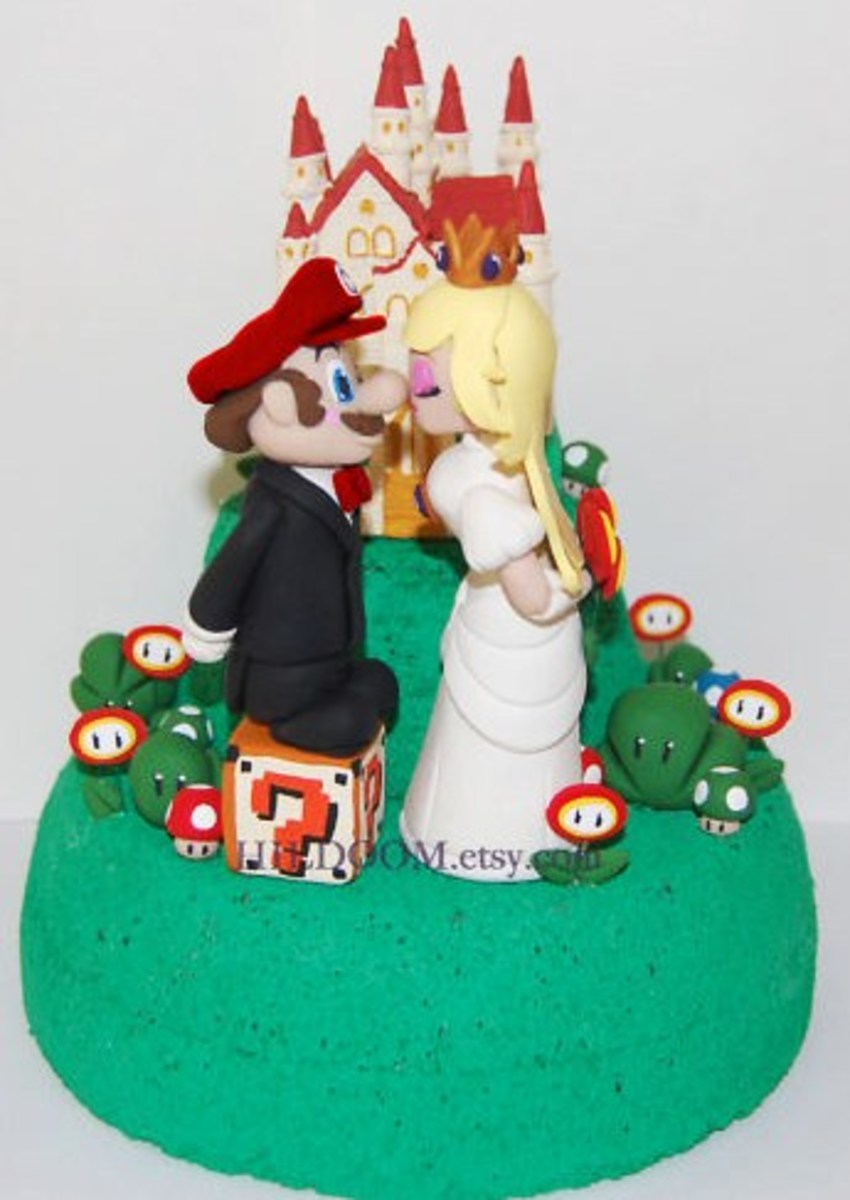 Now You May Kiss the Bride!