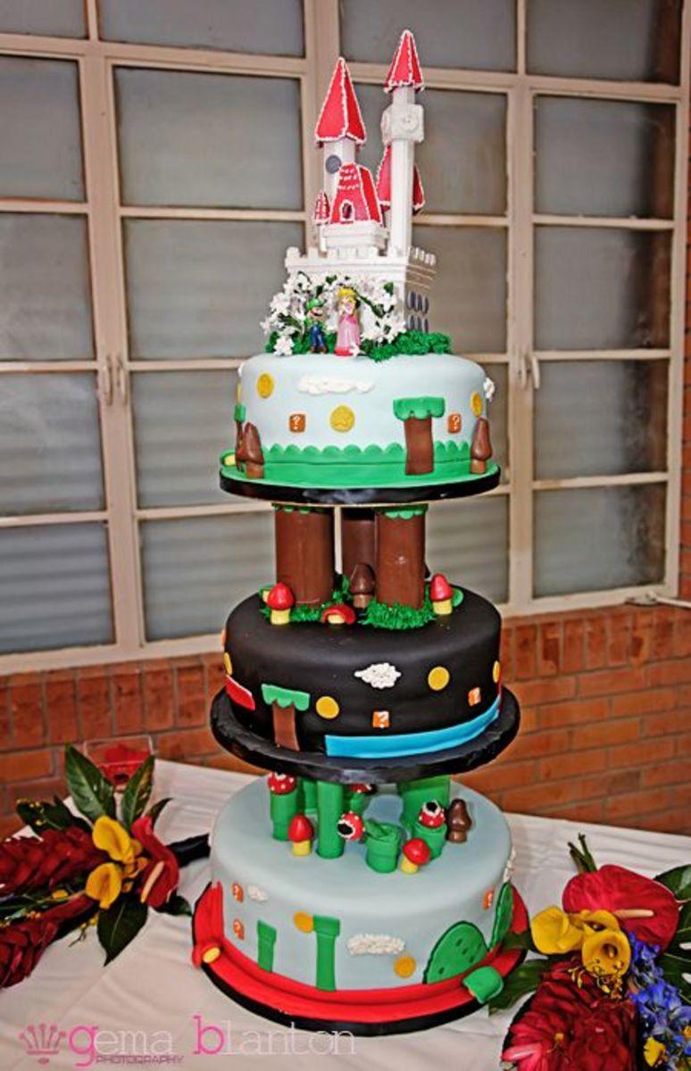 Mario Wedding Table